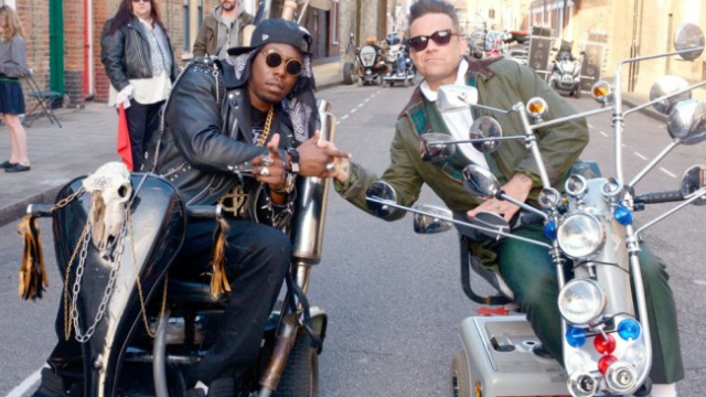 Dizzee and Robbie