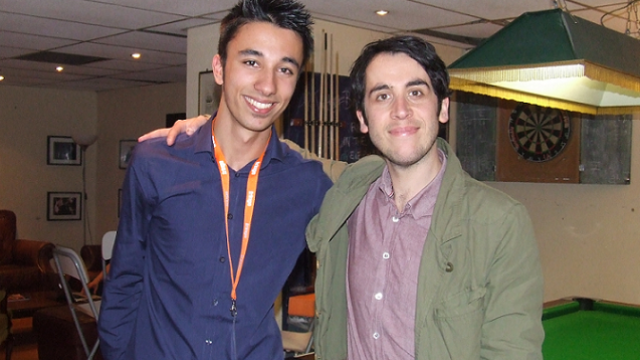 Aydan Butt and Pete Firman