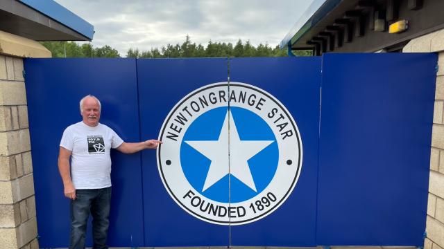 Newtongrange Star FC's stadium
